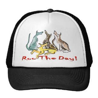 roo del galgo gorras