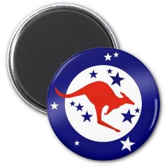 Roo Oz Kangaroo stars Australia magnets Fridge Magnet