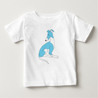 Roo Sitting (BLUE & WHITE) Baby T-Shirt