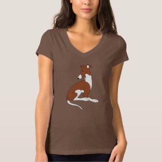 Roo Sitting (BROWN & WHITE) T-shirt