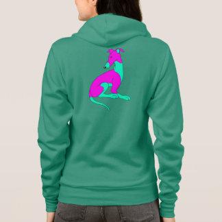 Roo Sitting (GREEN & PINK) Hoodie
