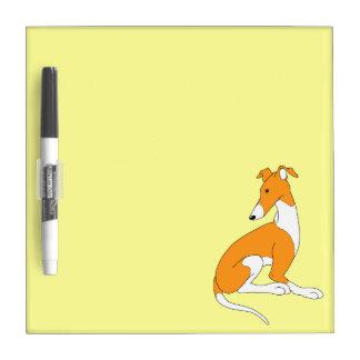 Roo Sitting (ORIGINAL ORANGE) Dry-Erase Whiteboard