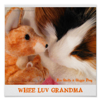 Roo Stuffy & Skippy Peeg Poster