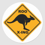 Roo Xing Sign Design Stickers