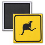 Roo Xing Sign Magnet