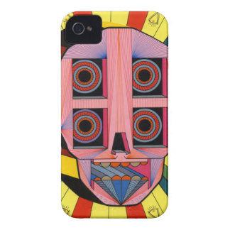 roobot skull iPhone 4 case