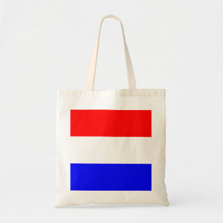 Rood-wit-blauw pile up with tote bag