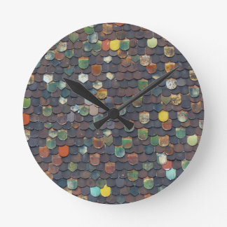 roof-998-color round clock