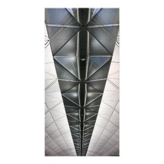 Roof at Hong Kong International Airport Picture Card