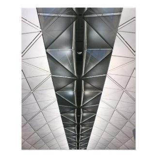 Roof at Hong Kong International Airport Photo Print
