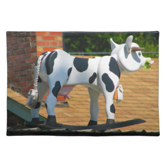 Roof Cow Cloth Placemat