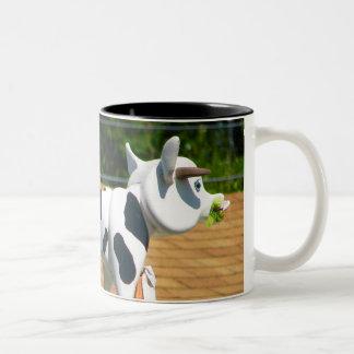 Roof Cow Two-Tone Coffee Mug