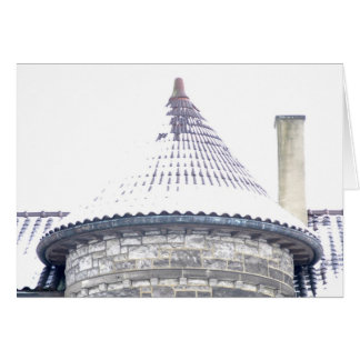 Roof in Highland Park Stationery Note Card