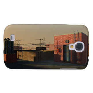 Roof in New York Galaxy S4 Cover
