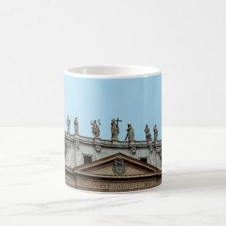 Roof of St. Peter's Basilicain Rome, Italy Coffee Mug
