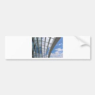 Roof of The Sky Garden, London Car Bumper Sticker