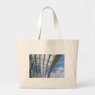 Roof of The Sky Garden, London Large Tote Bag