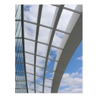 Roof of The Sky Garden, London Postcard