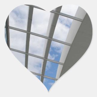 Roof of The Sky Garden, London Heart Sticker