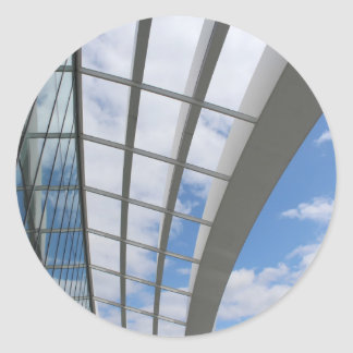 Roof of The Sky Garden, London Classic Round Sticker
