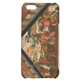 Roof painting from the wooden bridge Lucerne Case For iPhone 5C