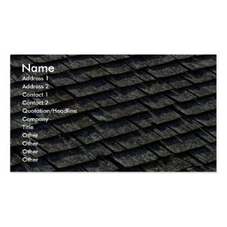 Roof shingles Double-Sided standard business cards (Pack of 100)