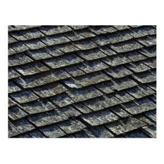 Roof shingles postcard