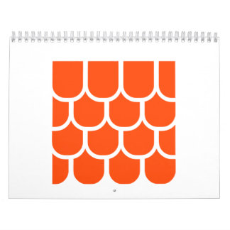 Roof tile calendar