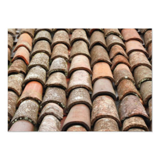 Roof tiles card
