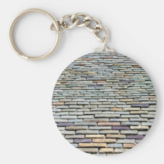 Roof Tiles Keychain
