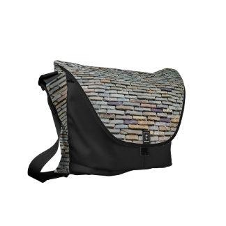 Roof Tiles Messenger Bags