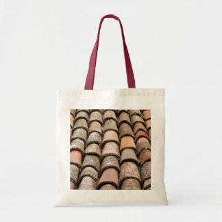 Roof tiles tote bags