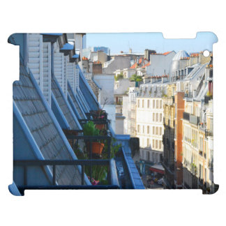 roof top balcony in a Paris France arrondissement Cover For The iPad 2 3 4