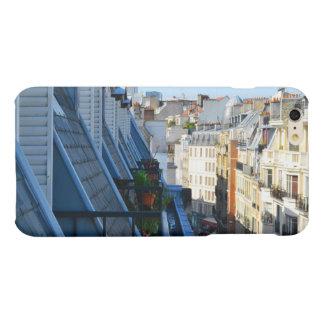 roof top balcony in a Paris France arrondissement Matte iPhone 6 Plus Case