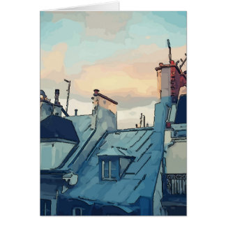 Roof Tops, cards