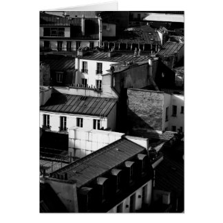 ROOF TOPS, PARIS, FRANCE GREETING CARDS