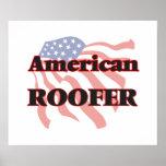 Roofer americano póster