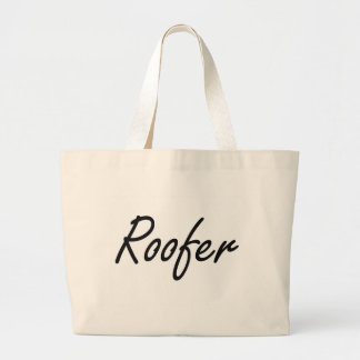 Roofer Artistic Job Design Jumbo Tote Bag