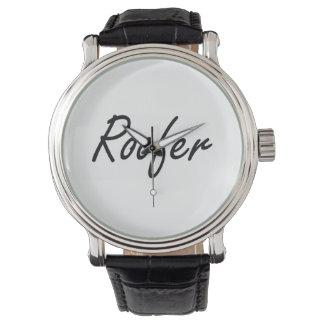 Roofer Artistic Job Design Watches