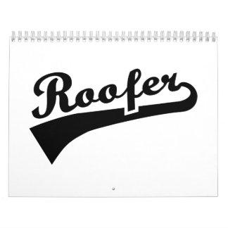 Roofer Calendar