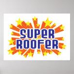 Roofer estupendo póster