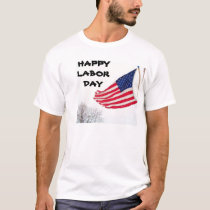 ROOFER, HAPPY LABOR DAY tee