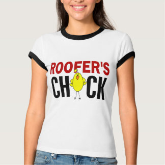 ROOFER'S CHICK TEE SHIRT