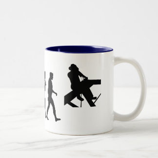 Roofer Tees and Roof Carpenter Gifts Two-Tone Coffee Mug