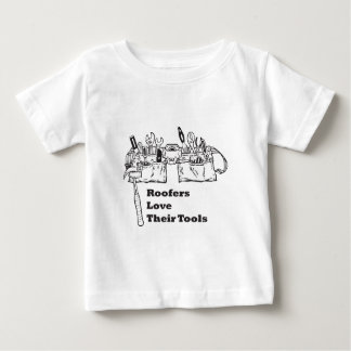 Roofers Love Their Tools Baby T-Shirt