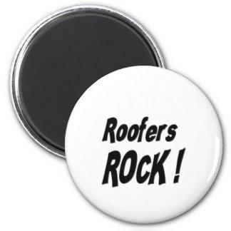 Roofers Rock! Magnet