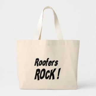 Roofers Rock! Tote Bag