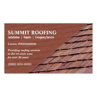 Roofers Tarjeta De Negocio