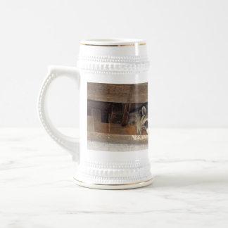 Roofie Raccoon Mug
