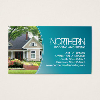 Roofing and Siding Business Card